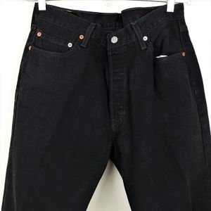 Levi's 501 Button Fly Jeans  Straight  Leg 36 x 30